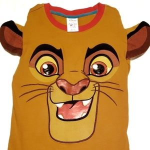 "Disney's Lion King ""Young Kion"" LS T-Shirt sz 7/8"